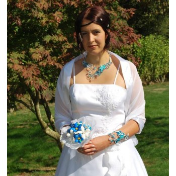 Bijoux de mariage de Gabrielle le 05-10-2013