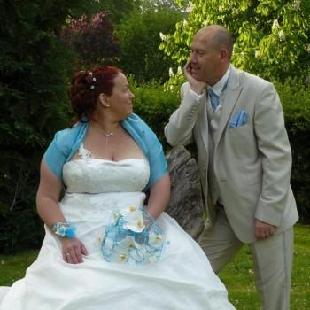 Bijoux de mariage de Nadège et Stéphane le 10-05-2014