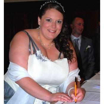 Bijoux de mariage d'Estelle le 17-05-2014
