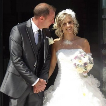 Bijoux de mariage de Laurence et Laurent le 12-07-2014