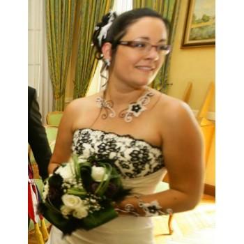Bijoux de mariage d'Alison le 26-07-2014