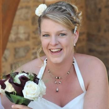 Bijoux de mariage de Lucile le 16-08-2014