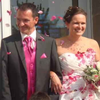 Bijoux de mariage d'Anne-Sophie et Franck le 23-09-2014
