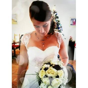 Bijoux de mariage d'Adrienne le 20-12-2014