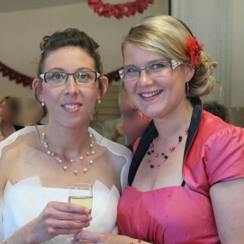 Bijoux de mariage de Delphine le 06-06-2015