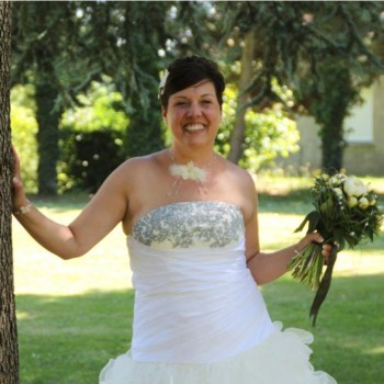 Bijoux de mariage de Flore le 06-06-2015