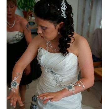 Bijoux de mariage de Marine le 06-06-2015
