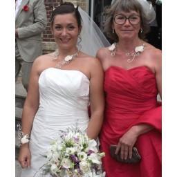 Bjoux de mariage de Dorothée le 11-07-2015