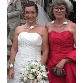 Bijoux de mariage de Dorothée le 11-07-2015