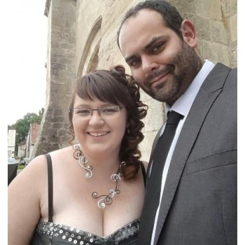 Bijoux de mariage de Justine et Jérémie le 24-07-2015