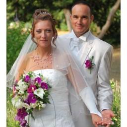 Bijoux de mariage de Christelle et David le 25-07-2015