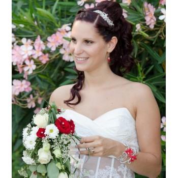 Bijoux de mariage de Julia le 26-07-2015
