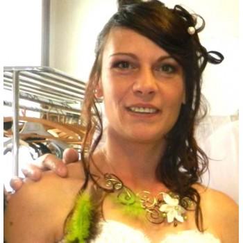 Bijoux de mariage de Cindy le 01-08-2015