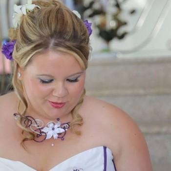 Bijoux de mariage de Kelly le 21-08-2015
