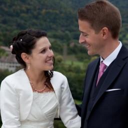 Bjoux de mariage d'Aurélie et Simon le 03-10-2015
