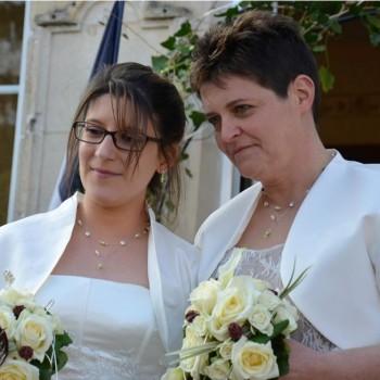 Bijoux de mariage de Gaëlle et Corinne le 19-03-2016
