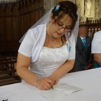 Bijoux de mariage de Valérie le 21-05-2016