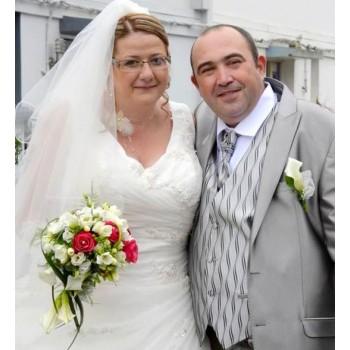 Bijoux de mariage de Julie et David le 04-06-2016