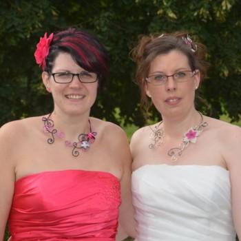 Bijoux de mariage d'Audrey le 23-07-2016