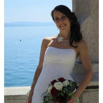 Bijoux de mariage d'Aurore le 30-07-2016