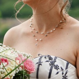 Bijoux de mariage de Marion le 30-07-2016