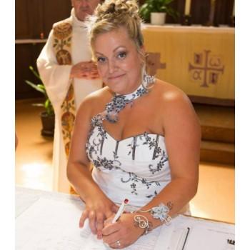 Bijoux de mariage d'Emilie et Yvan le 13-08-2016