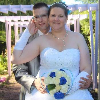 Bijoux de mariage de Lydie et Marc le 06-08-2016