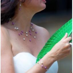 Bijoux de mariage de Frédérique le 01-07-2017