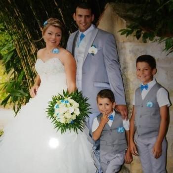 Bijoux de mariage d'Elodie et Mickaël le 08-07-2017
