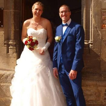 Bijoux de mariage de Mélanie et Nicolas le 02-09-2017