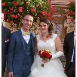 Bijoux de mariage de Justine et Jérôme le 23-09-2017