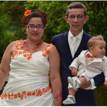 Bijoux de mariage d'Aline et Sylvain le 30-05-2018