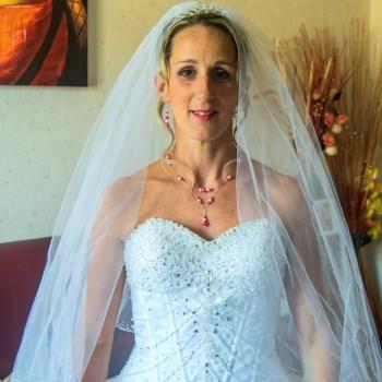 Bijoux de mariage de Davina le 23-06-2018