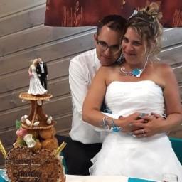 Bijoux de mariage de Sandrine et Jean Michel le 23-06-2018