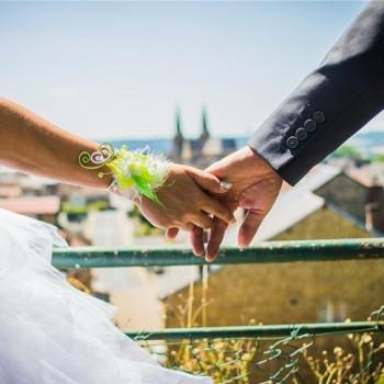 Bijoux de mariage d'Annelise le 30-06-2018
