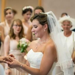 Bijoux de mariage d'Estelle le 07-07-2018