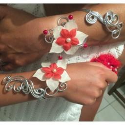 Bracelets de Mariage d' Isabelle et sa fille le 28-07-2018