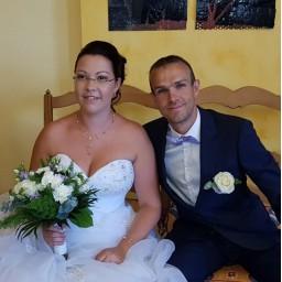 Bijoux de mariage de Laëtitia et Alexis le 18-08-2018