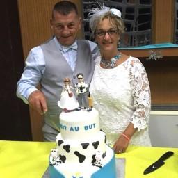 Bijoux de mariage de Sylvie et Daniel le 25-08-2017