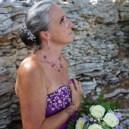 Bijoux de renouvellement de voeux de Fabienne le 17-08-2019