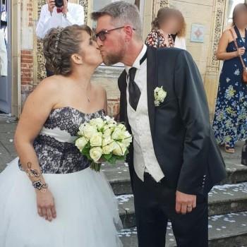Bracelet de mariage de Karine et David le 19-10-2019